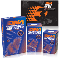 Full range of High Performance Air  Filters and Intake Solutions